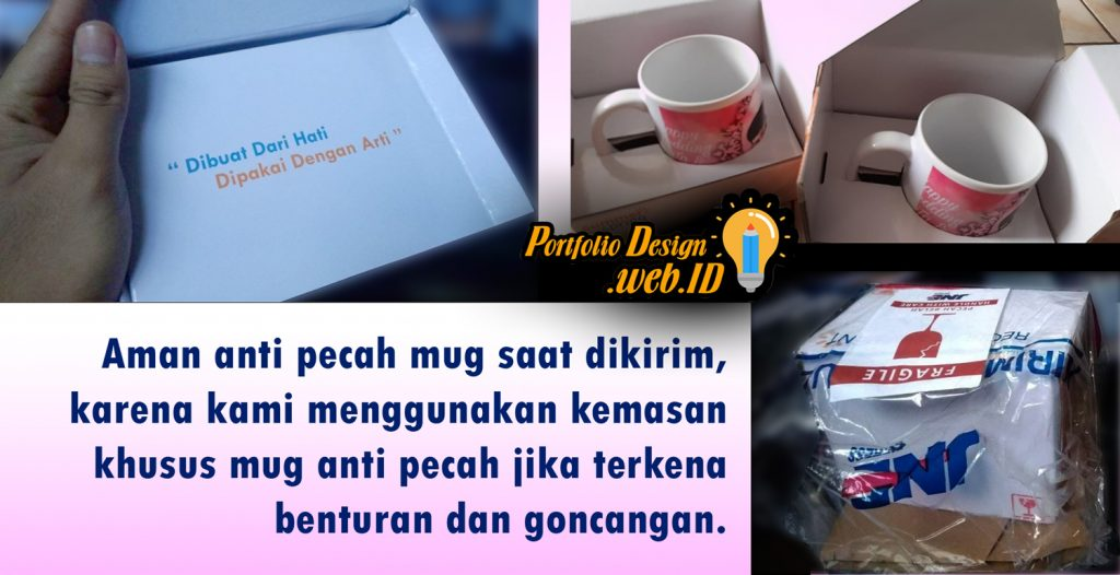Magic mug bunglon anti pecah